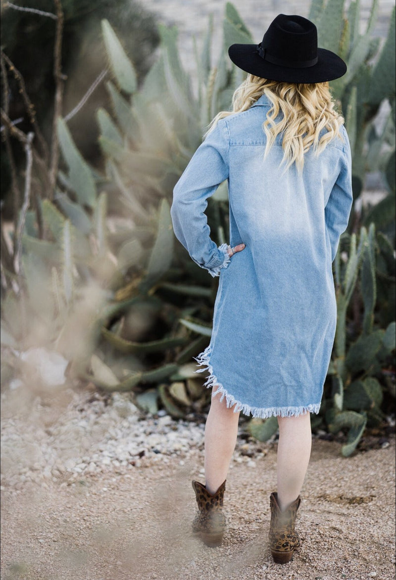 Jessica Denim Tunic Dress