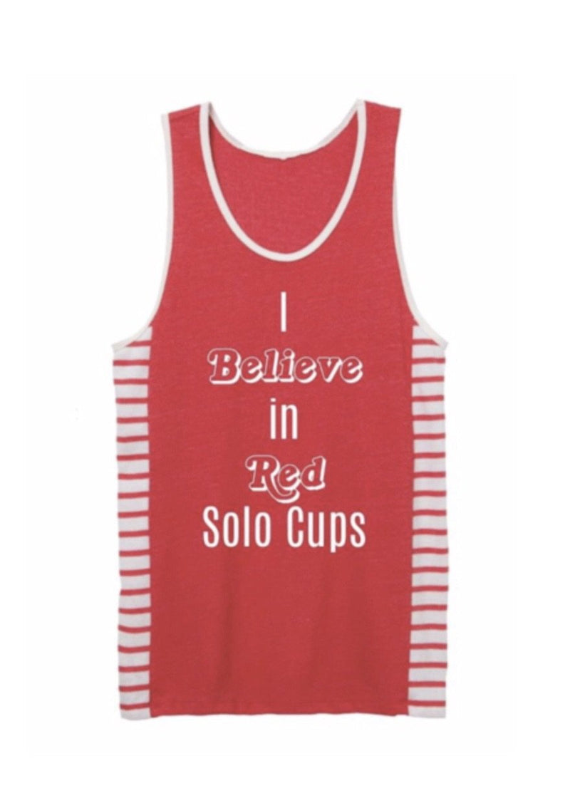 Red Solo Cup Tank