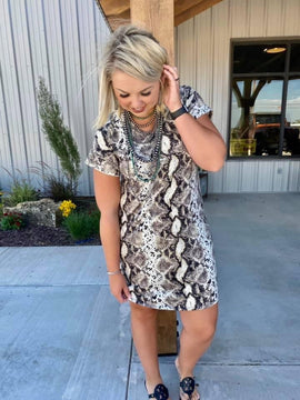 Millstone Snakeskin Dress