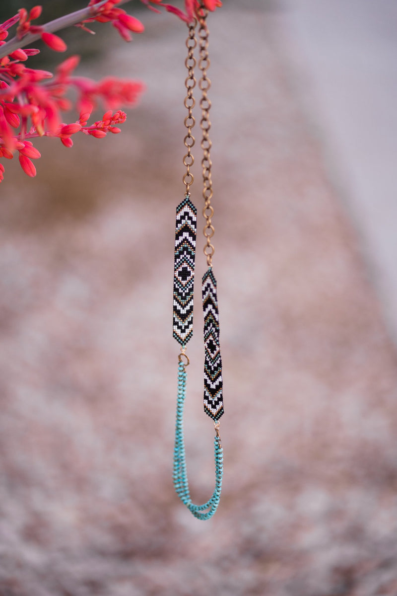 Turquoise Loom Necklace