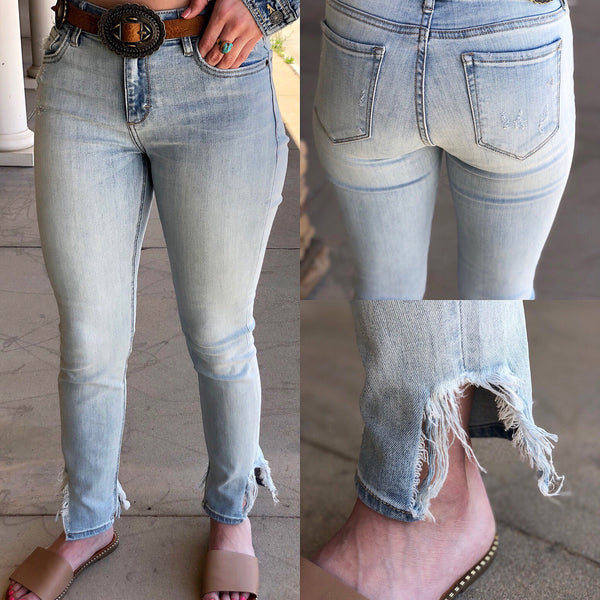 Amelia Light Blue Skinny