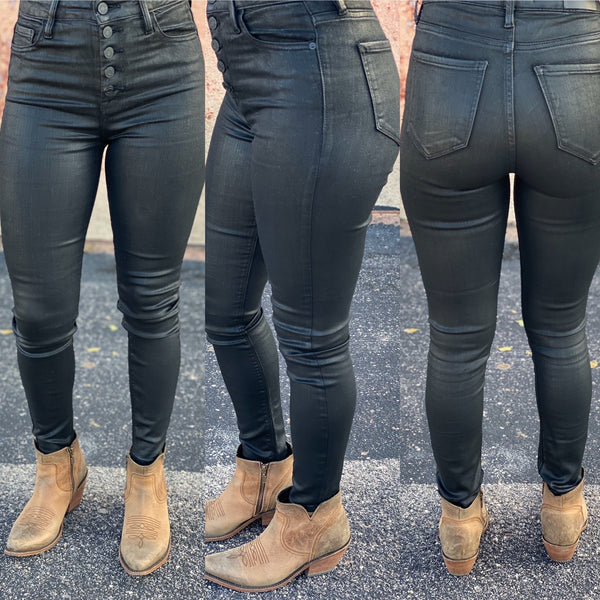 Hidden Taylor Black Highrise Skinnies