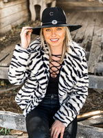 Miss Rodeo Zebra Jacket