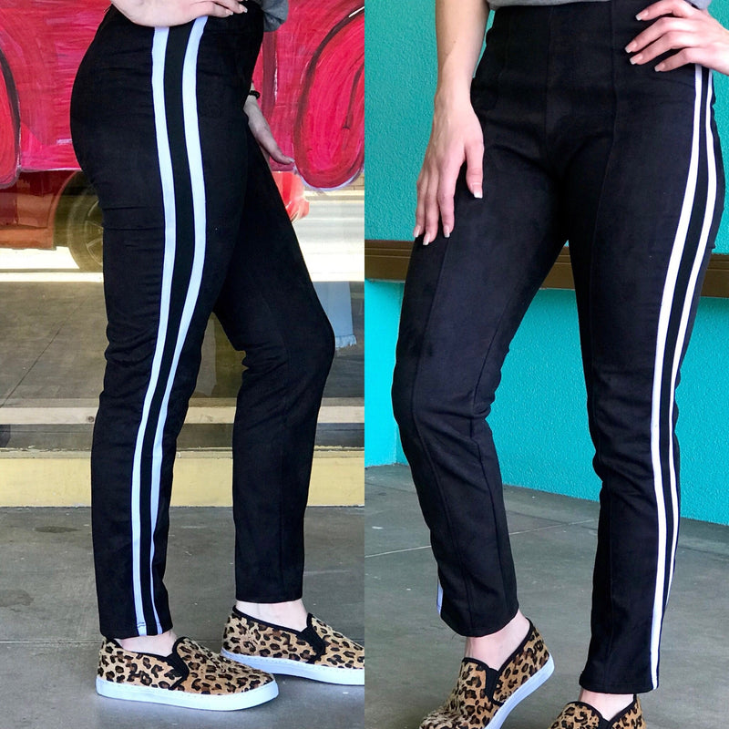 Referee Suede Leggings