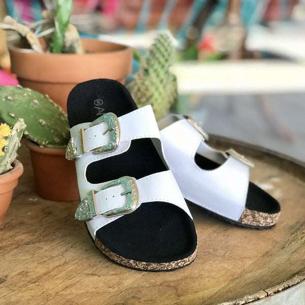 Weston Buckle Slides