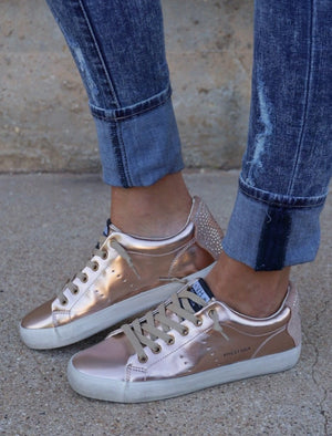 Rose Gold Galaxy Sneaker