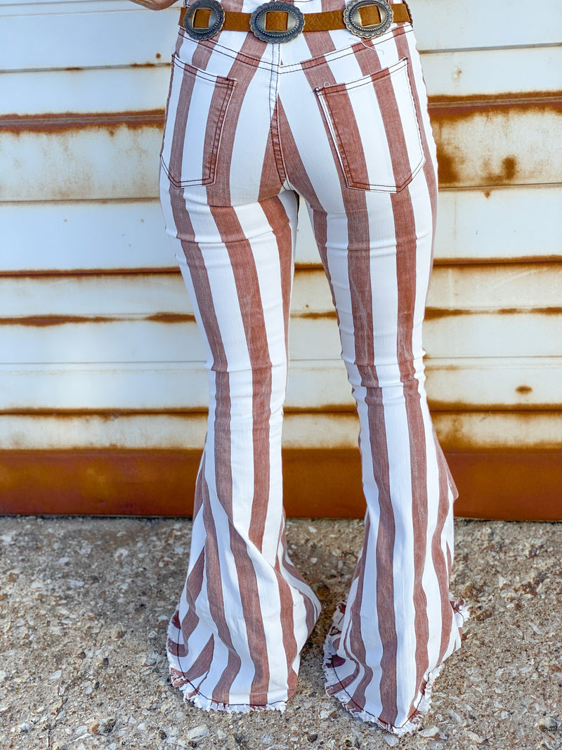 Striped Fredericksburg Flares