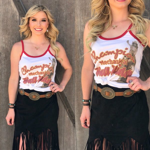 Mechanical Bull Tee