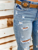 Samantha Light Wash Skinnies