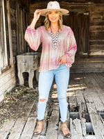 Wilkerson Sequin Top