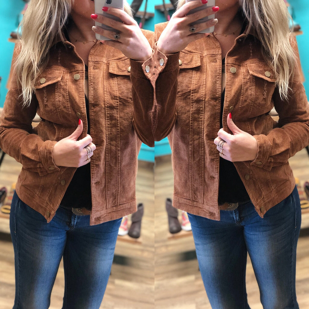 Morgan Corduroy Jacket