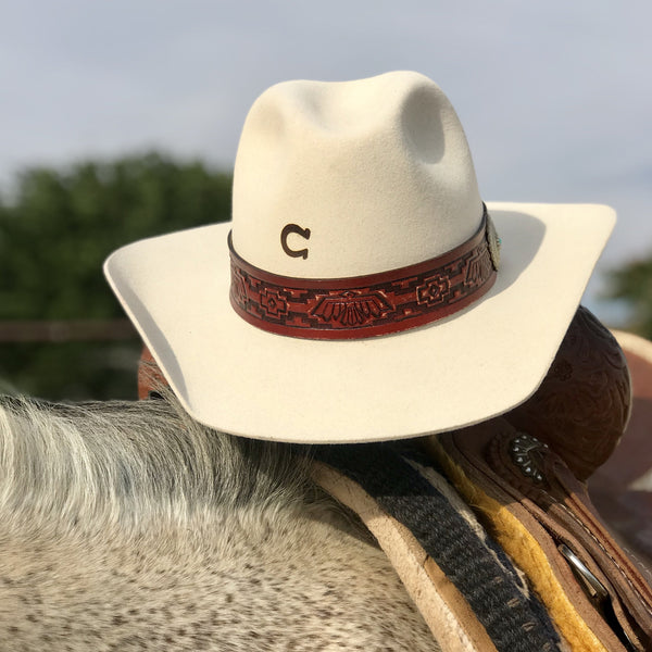 Charlie One Horse Chief Hat