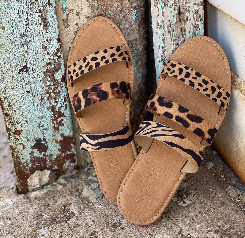 Safari Multi Strap Sandals