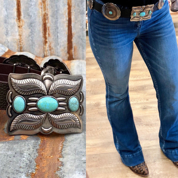 Outlander Concho Belt