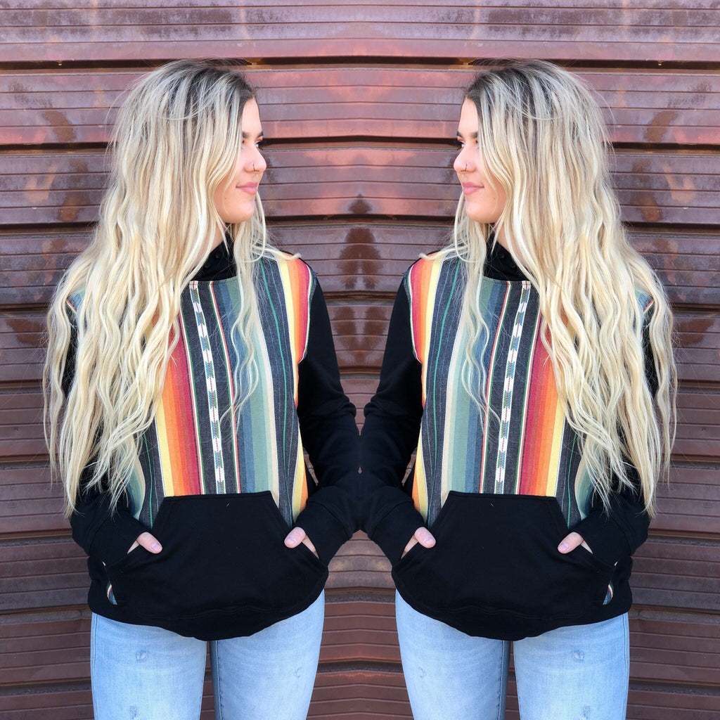James West Serape Hoodie