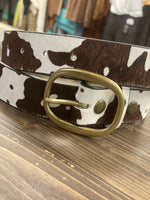Reno Cow Hair Belt