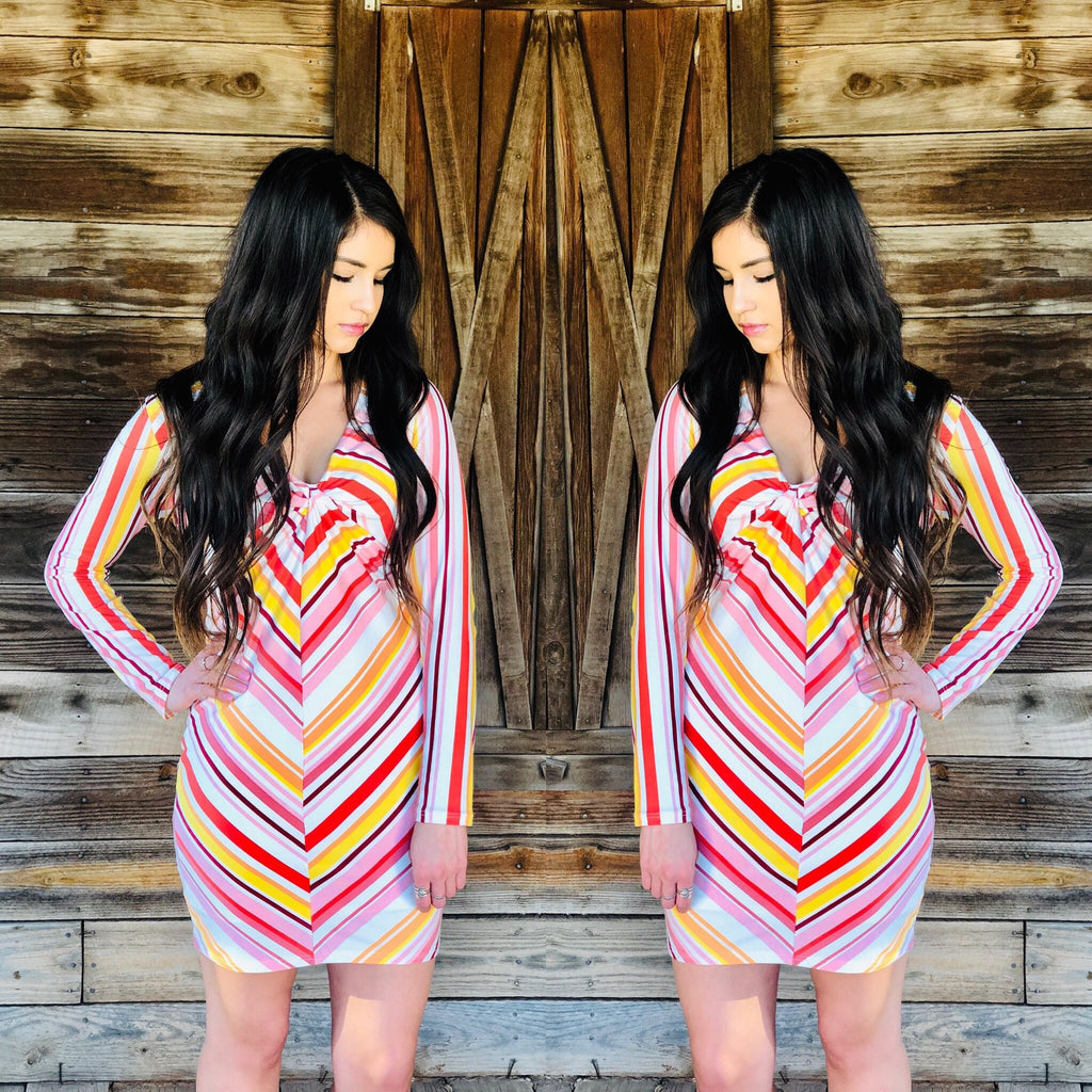 Jessi Multi Stripe Dress