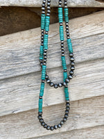 Sam Turquoise Navajo Necklace