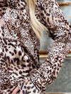 Dear John Cheetah Leena Top