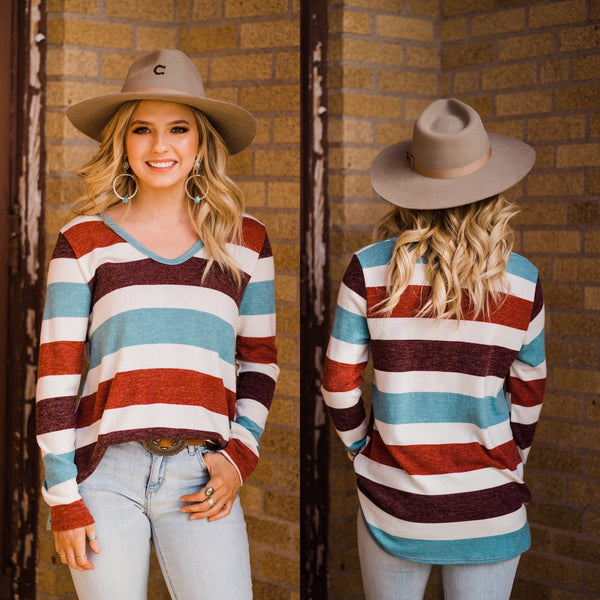 Levi Stripe Top