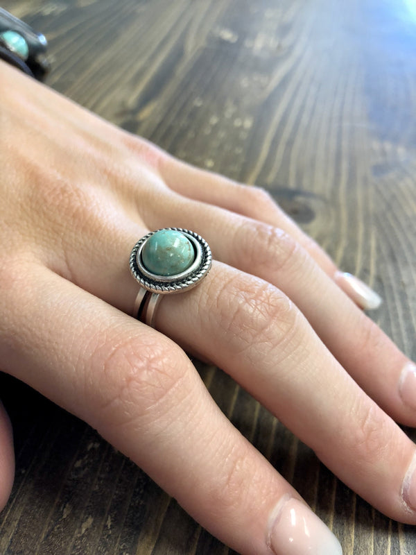 Tinley Turquoise Ring