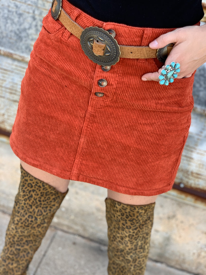 Pumpkin Spice Skirt