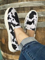 Out West Cowhide Sneakers