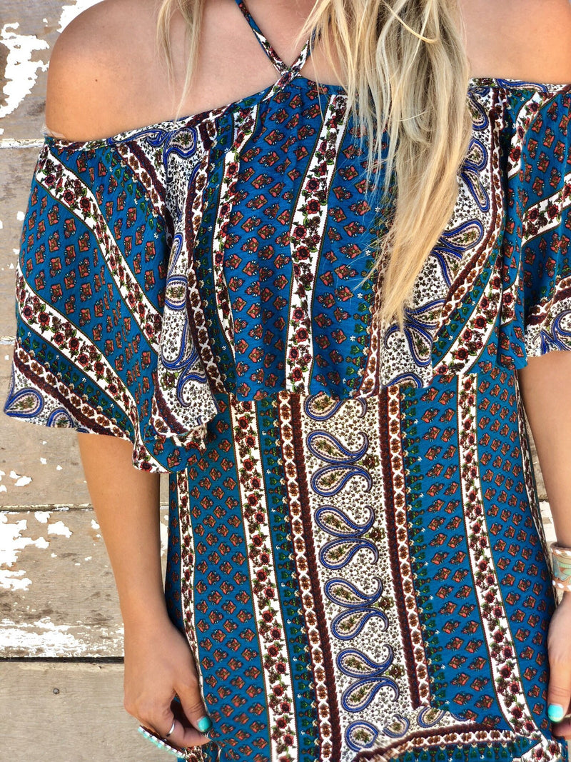 Paisley Ann Maxi Dress