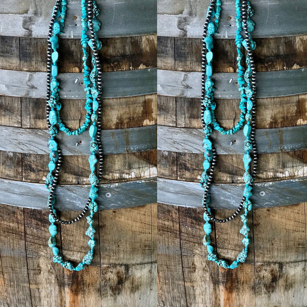 Jessi Ann Turquoise Necklace