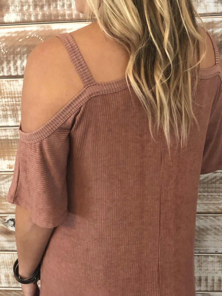 Remi Cold Shoulder Dress