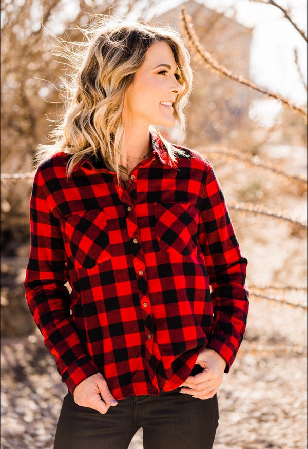 Holiday Red Flannel