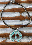 Mitchell Turquoise Squash Necklace