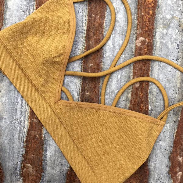 Slick Strappy Back Bra