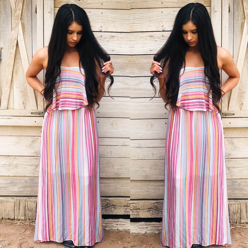 Tara Lu Striped Dress
