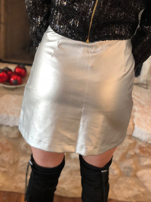 Liquid Metal Skirt
