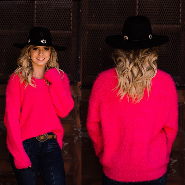 Savannah Fuchsia Sweater