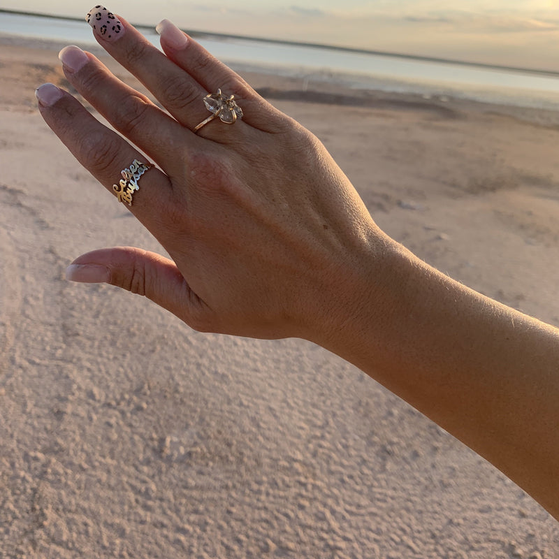 Gold Inner Peace Ring