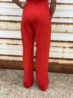 Jeana Red Jumpsuit