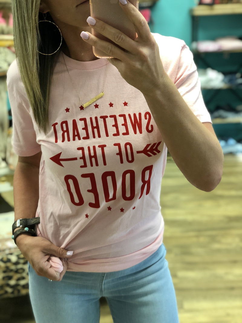 Sweetheart of the Rodeo Tee
