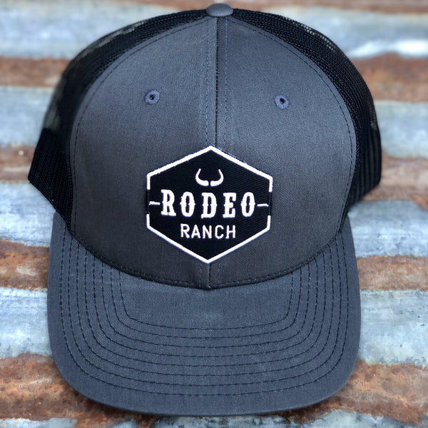 Rodeo Ranch Logo Hat-Black