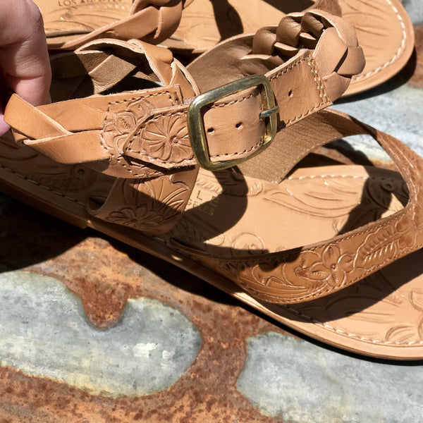 Rodeo Tooled Sandal