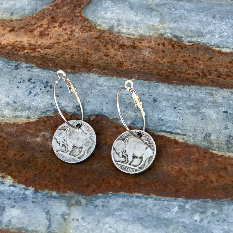 Roamer Nickel Earrings