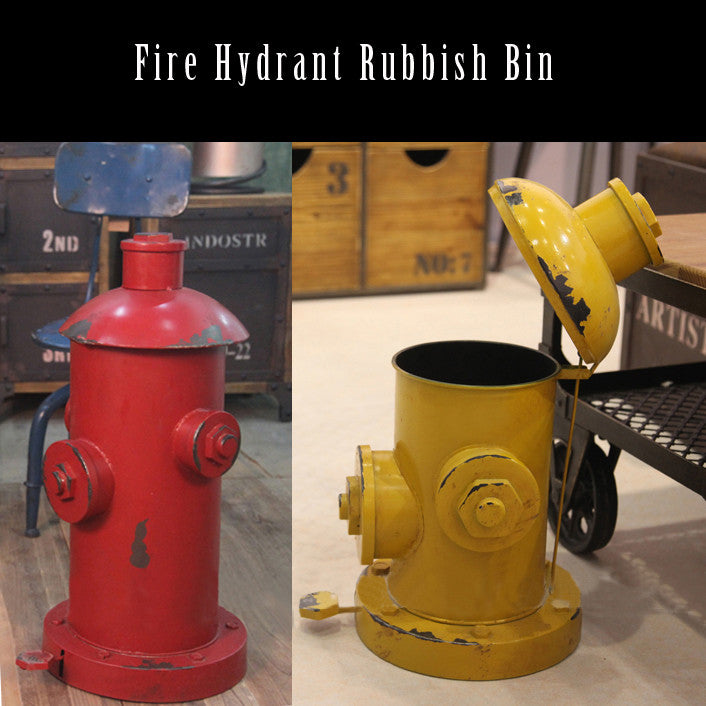 Fire Hydrant Rubbish Bin