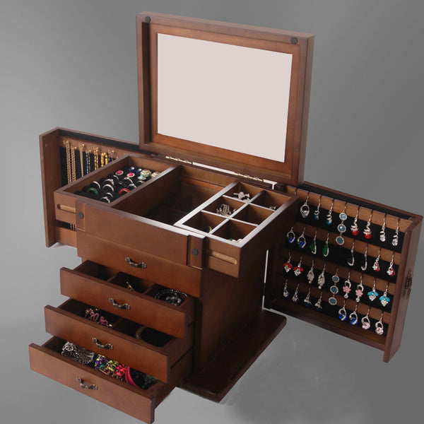 Jewelry Cabinet with Many Compartment