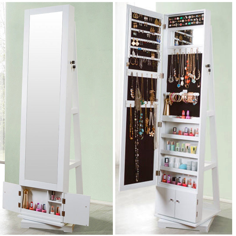360 Degrees Rotation Dressing Cabinet