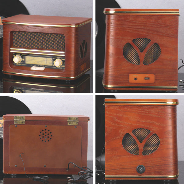 Vintage Radio / CD / USB Player