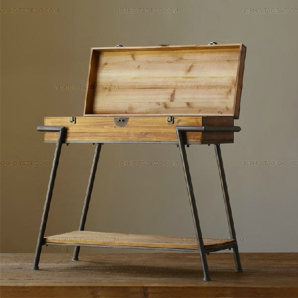 Retro Vintage SuitcaseTable