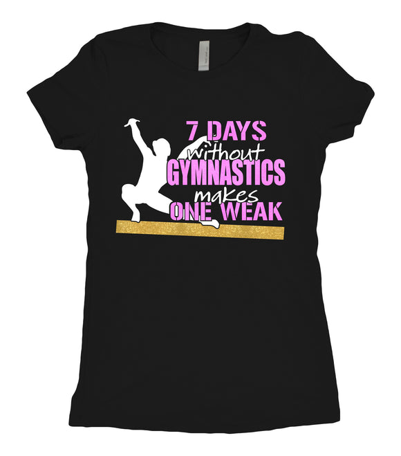 Tee Shirt - 7 Days - AERO Leotards