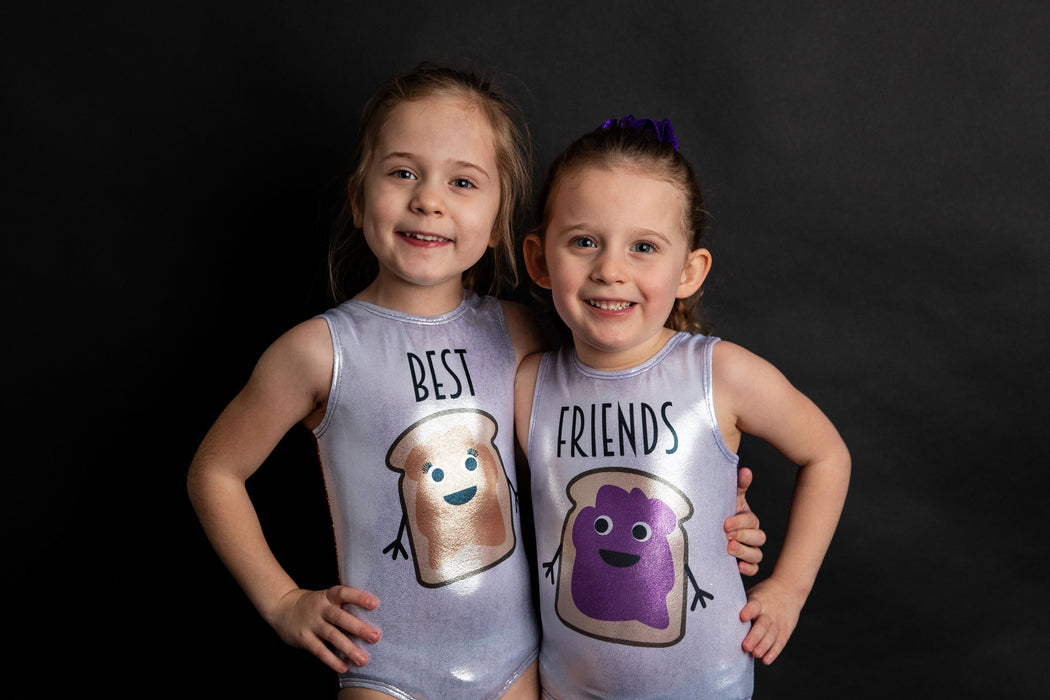 PB & J Best Friends Leotard Set