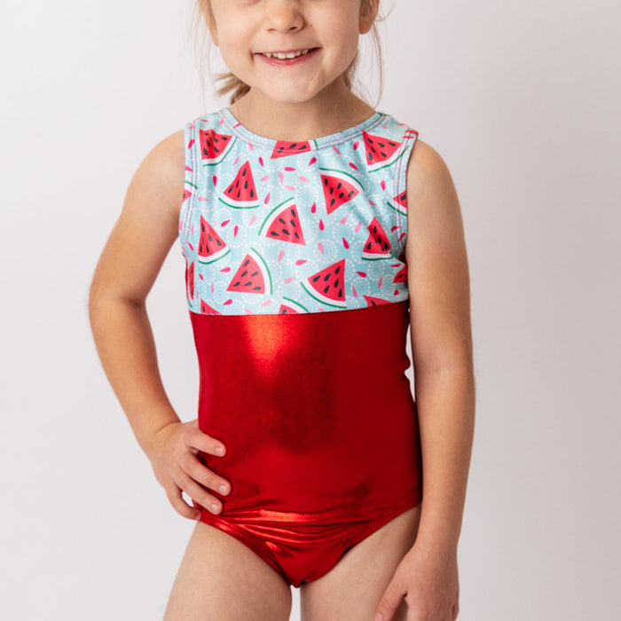 Watermelon Slices Leotard